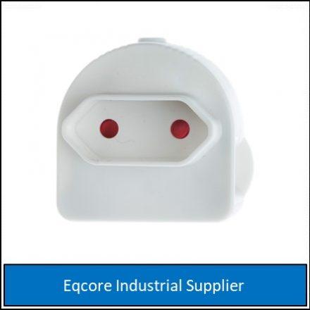 Adaptor Euromate Single White