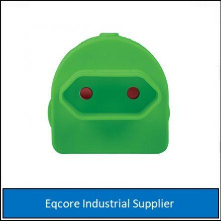 Adaptor Euromate Single Green-Mate