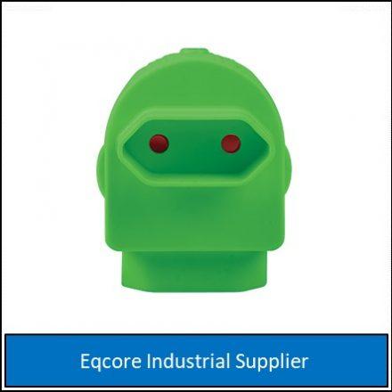 Adaptor Twin Euromate Green