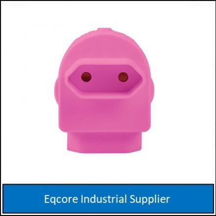 Adaptor Twin Euromate Pink