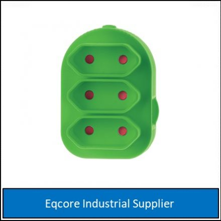Adaptor Triple Euromate Green
