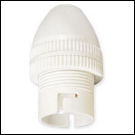 Elec Mts Lampholder 1mm White L