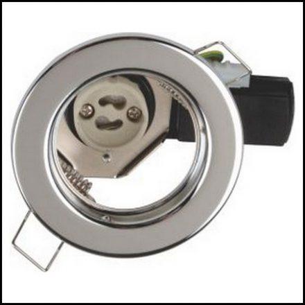 Elec Mts D/Light Fit Stl Str 220V 50W Ch