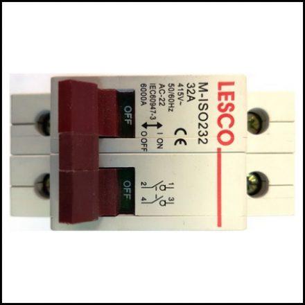 Elec Mts Isolator Mini D/Pole 32A