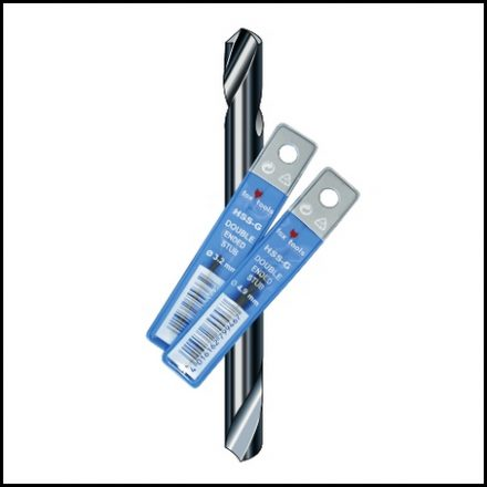 Drill Fox Stub Double Ended Sleeve 3.2mm
