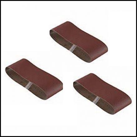 Abrasive Fox Profile Belt 10 X 457 mm 100 Grit 3 Pieces