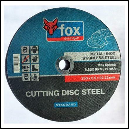Abrasive Fox Cut Steel 230 X 2.5 mm Std