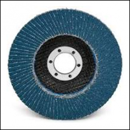 Abrasive Fox Flapper Disc 115 mm Alu Oxide 40 Grit Pro