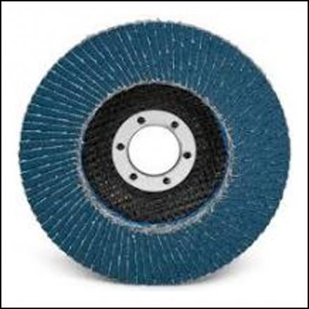 Abrasive Fox Flapper Disc 115 mm Alu Oxide 60 Grit Pro
