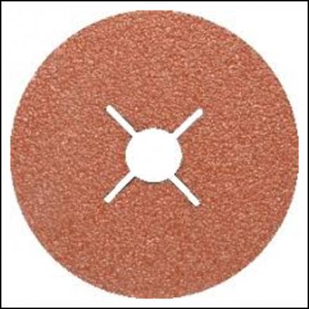 Abrasive Fox Disc Resin Fibre 178mm P80 25