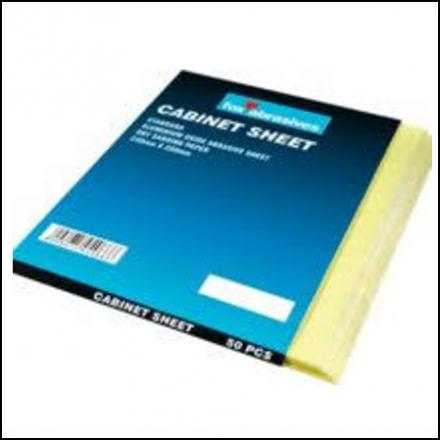 Abrasive Fox Sheet Cabinet Paper P150 Per50