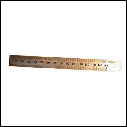 Rule Groz Stainless Steel 15mm Sr150
