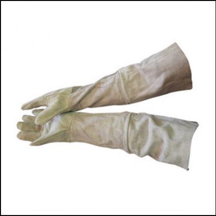 "Glove 16"" Chrome Leather Glove Double Palm"