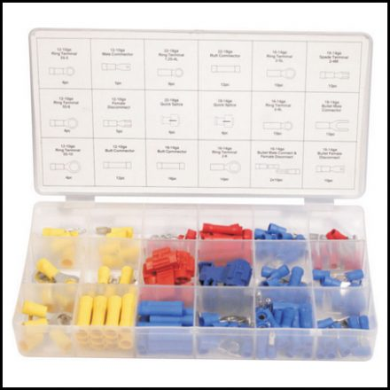 Assortment Mts Wire Lugs 160Pc