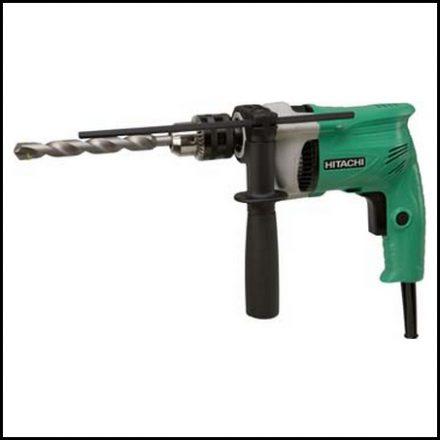 Hitachi Imp Drill 13mm 600W 1Sp Klc V/R