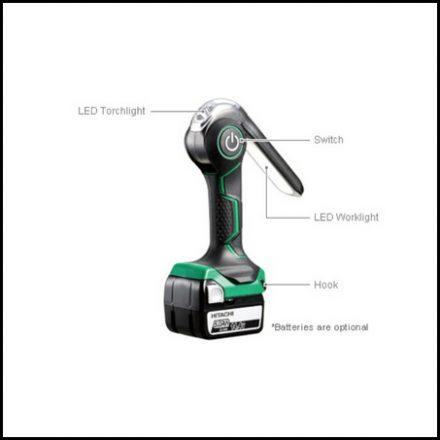 Hitachi C/L Worklight 14 4 18V 6000Lum