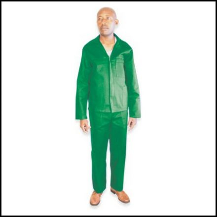Overall 2 Piece Emerald 44 112