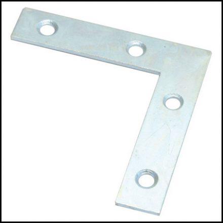 Mackie Brace Corner Galv 75X75mm 2 Piece