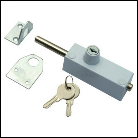 Mackie Lock Patio Door White