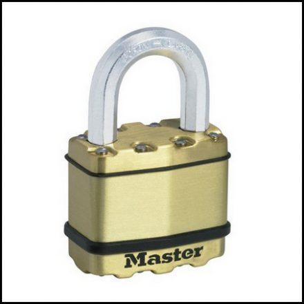 Padlock Mas Exl 5mm Lam Brass Ma455003