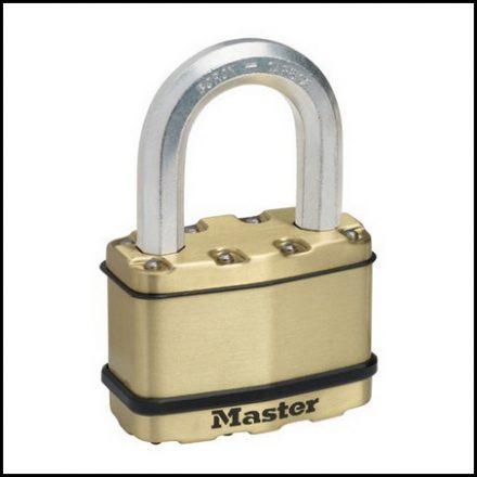 Padlock Mas Exl 64mm Lam Brass Ma455008
