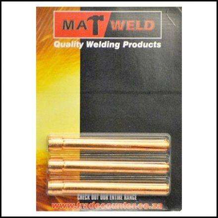Matweld Prepack Tig Collet 1.6 mm 3