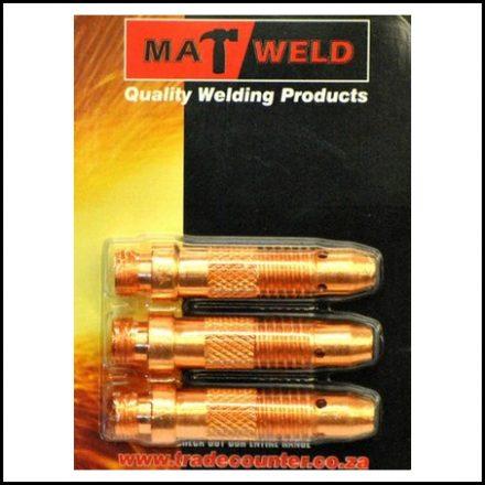 Matweld Prepack Tig Collet Body 2 4mm 3