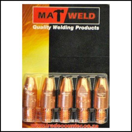 Matweld Prepack Contact Tip M6X 9 5