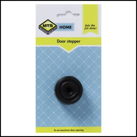 Mts Home Door Stopper Black 1Pc
