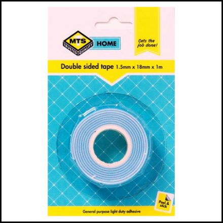 Mts Home Double Sided Tape 1 5X18mmx1mm