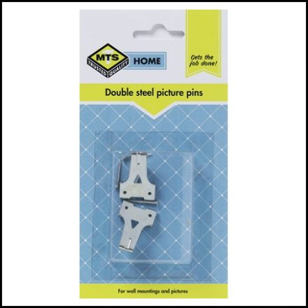 Mts Home Double Sided Picture Pins 2 Piece