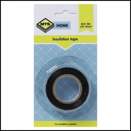 Mts Home Insulation Tape Black 10M