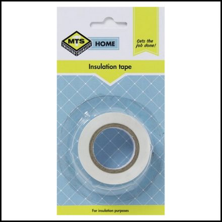 Mts Home Insulation Tape White 10M