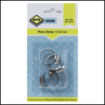 Mts Home Hose Clamp 13-23mm 4Pc