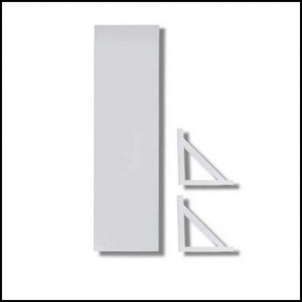 Mts Home Bracket&Shelf 60mmx20mm White
