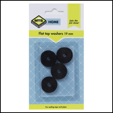 Mts Home Fat Tap Washer 19mm 4Pc