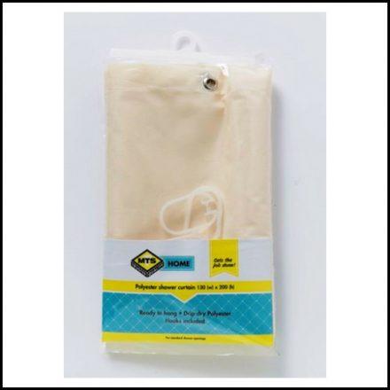 Mts Home Std Drip Dry S/Curtain Champayn