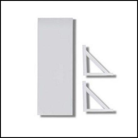 Mts Home Bracket&Shelf 45mmx20mm White