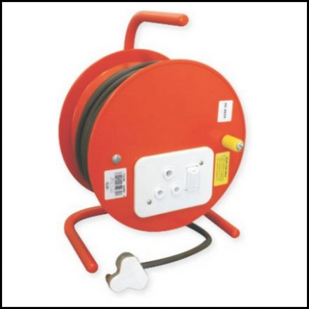 Extension Reel Mts Steel 50M Dp No Cable
