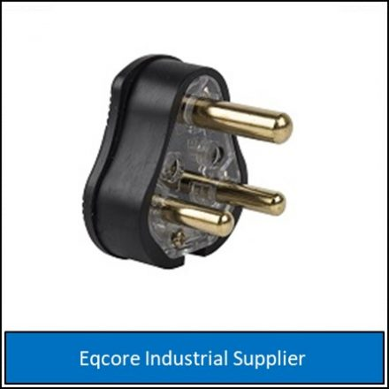 Plug Top Solid Brass Pin H D Rubber