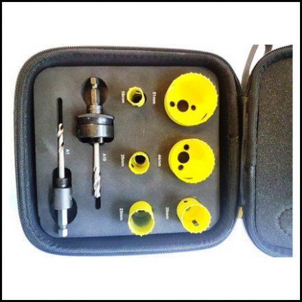 Holesaw Starrett Kit 16-51mm Kfc06022