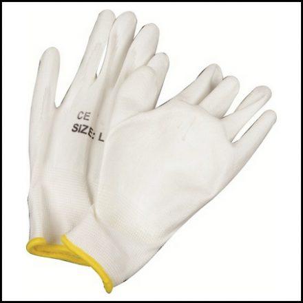 Glove Matsafe Nylon White Pu G/P 240 Pp