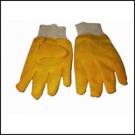 Glove Matsafe Latex Knit Yellow Pp 120