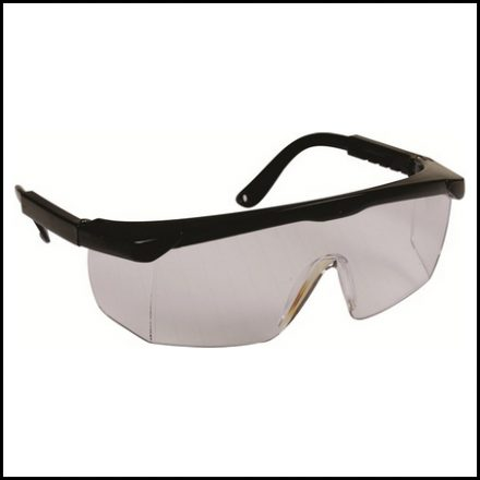 Spectacle Matsafe Clear Black Frame