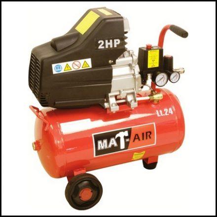 Compressor Mat Air 1 5Kw/2Hp 24L 220V Dd