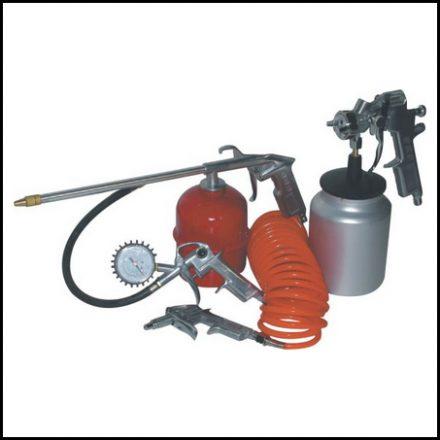 Compressor Mat Air Kit 2Hp 24L +5Pc S/Gun