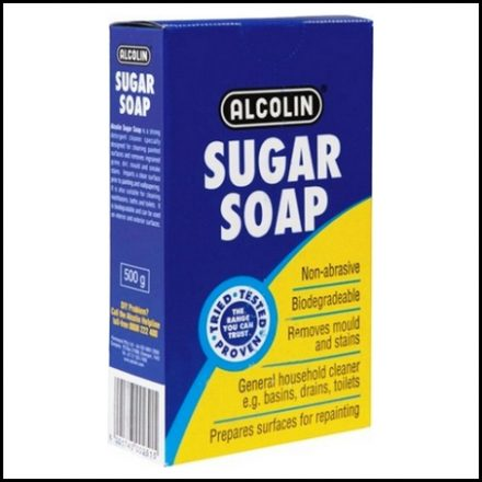Alcolin Sugar Soap 500G 12