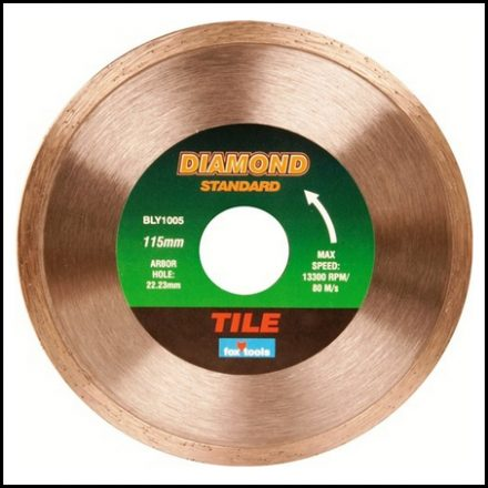 Blade Fox Diam Tile Standard 115mm