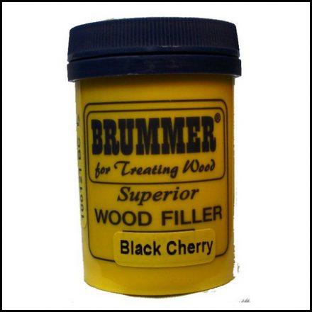 Brummer Wood Filler Int Black Cherry 250G