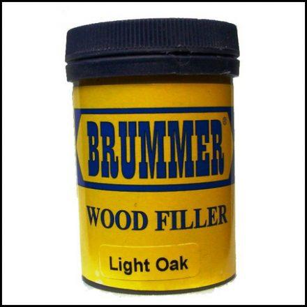 Brummer Wood Filler Int Light Oak 250Gr